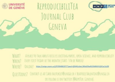 Geneva ReproducibiliTea Journal Club